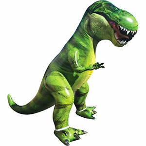 Giant T-Rex Dinosaur Inflatable for Pool Party Decorations, Birthday Party Gift
