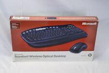 Microsoft Standard Wireless Optical Keyboard and Mouse Combo PC/Mac