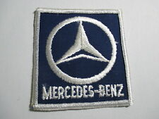 Mercedes-Benz Patch Square, Not a Reproduction, NOS, Vintage, 2 3/4 x 3 Inches