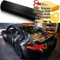 "*60/""x120/"" Brushed Aluminum Green Car Vinyl Wrap Sticker Decal Air Release Bubble"