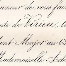 Raoul De Virieu De Beauvoir Annoux 1876 Adele Masurier