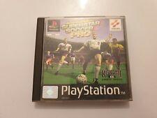 International SUPERSTAR SOCCER Pro PlayStation 1 (ps1) PAL España COMPLETO