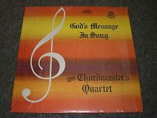 God's Message In Song~The Chordmaster's Quartet~Private Label Xian~FAST SHIPPING