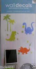 Dinosaurs Decals Giant Self Adhesive Wall Decor New In Package Removable