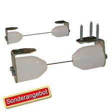 Montage-Set für Seilspann Markise o Sonnensegel 10m Edelstahlseil Seilspannmarke