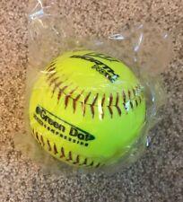 "Worth 11"" Asa Green Dot Slowpitch Softball Ys11Rsa3"
