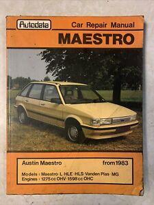 Austin Maestro Autodata Car Repair Manual 1983 On 1275cc 1598cc