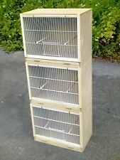 "3 x Single Finch Breeding Cage Cages 19""  ""MULTIBUY OFFER!!"
