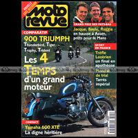 MOTO REVUE 3191 YAMAHA 600 XTE TRIUMPH 900 TIGER THUNDERBIRD TRIDENT TROPHY 1995