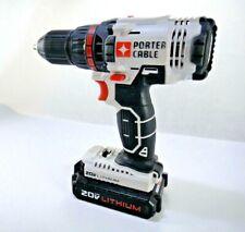 PORTER-CABLE PCC601 20V MAX 1/2 Drill/Driver Cordless Lithium Ion w/ PCC681L