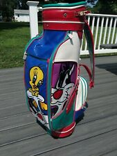 Vintage 1989 LOONEY TUNES Golf Bag Sylvester and Tweety RARE