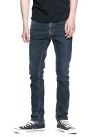 Nudie Herren Slim Fit Stretch Jeans - Lean Dean Endorsed Indigo - W27, W29