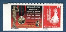 """cagou 1102 logo personnalisé de nouvelle calédonie """"croix de la résistance"""" 2016"""