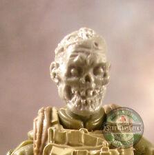 "MH378 Custom Cast Zombie head #4 use w/ 3.75"" GI Joe Star Wars Marvel Acid Rain"