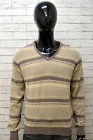 Maglione Uomo MARLBORO CLASSICS Taglia L Pullover Felpa Sweater Cardigan Cotone