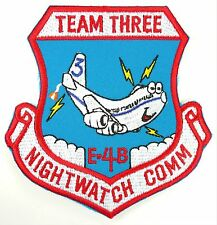 USAF 1st ACCS AIRBORNE COMMAND AND CONTROL SQUADRON TEAM THREE PATCH