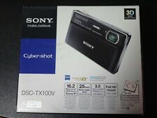Sony Cybershot DSC-TX100V 16.2 MP Digital Camera - Silver (NOT WORKING)