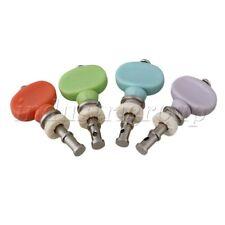 4Pcs Plastic Multicolour Button Ukulele Guitar Machine Heads