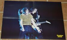poster affiche revue magazine français Rock SCORPIONS 57x42cm