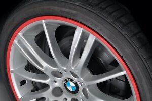 Rimskins RED 4 Pack wheel rim protectors Rim skins