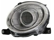 Driver Left Genuine Headlight Headlamp Assy Silver Housing For Fiat 500 12-18