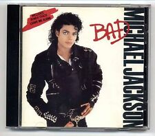 Michael Jackson CD Bad rare early JAPAN-FOR-EUROPE press EPC 450290 2 1987