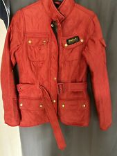Ladies BARBOUR INTERNATIONAL Quilted Jacket Coat - Size 10