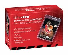(50) Ultra Pro TALL LARGE Semi Rigid Card Holders BGS GRADED SUBMISSION