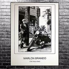 Poster Film The Wild One, Il Selvaggio - Marlon Brando - Formato; 60x80 CM