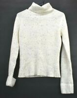 Maurices Womens Small Wool Blend Long Sleeve Fall/Winter Wear Turtleneck Sweater