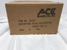 Vintage Tales From The Cryptkeeper Action Figure EMPTY SHIPPER CASE Ace Novelty