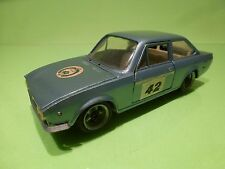 NACORAL FIAT 124 SPORT 1600 - No 42 - METALLIC BLUE 1:25? - NICE CONDITION