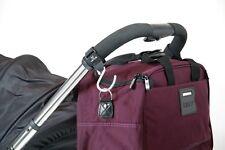 Buggy Clips Universal Pram Pushchair Shopping Bag Hooks Straps x 2