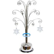 For Swarovski Christmas Ornament 2020 Annual Snowflake Crystal Angel Star Stand