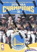 2018 Panini Golden State Warriors NBA Finals Champions Factory Sealed Box Set