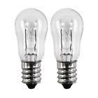 OCSParts ELE208 x 2 WE4M305 General Electric Dryer Light Bulb, 120V, 10W 2 pack photo
