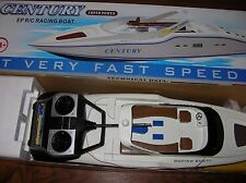 "CENTURY EP R/C Twin-Engine 28"" RACING BOAT w/CONTROLLER"