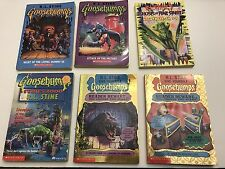 Goosebumps & Ghosts of Fear Street Book Lot R.L. Stine - 6 Scary Paperback Books