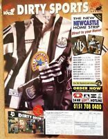 MATCH football magazine retro player picture Newcastle United - VARIOUS (Lot 02)