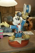 Disney Catalog USA Mickey Mouse as Patriotic Uncle Sam Disney Big Fig Figurine
