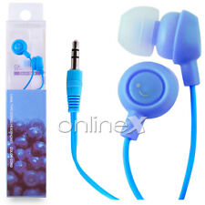 Auricular Fruit AZUL Universal Jack 3.5mm para MP3, MP4, Reproductor Música a350