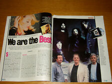 MADONNA clipping articolo fotografia photo 2001 AV7 pink floyd ' WE ARE THE BEST