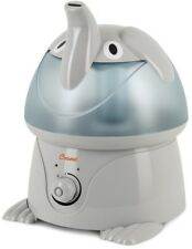 Humidifier 1 Gal. Cool Mist Tabletop Elephant Design with Automatic Shut Off