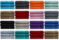 3x Super Jumbo Bath Sheets Combed Towels Extra Large Size 90 x 180 cm Bath Sheet
