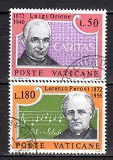 Vatican City - 1972 Orione & Perosi Mi. 613-14 VFU