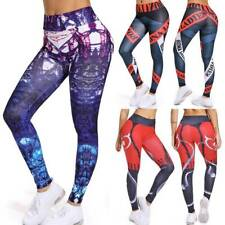 Women Sports Pants High Waist Yoga Fitness Leggings Push Up Gym Wear Trousers