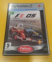 F1 05 Formula 1 One 2005  GIOCO PS2 VERSIONE ITALIANA