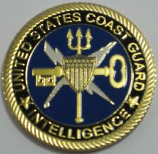U.S. COAST GUARD INTELLIGENCE CHALLENGE COIN