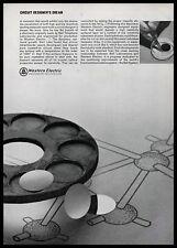 1965 Western Electric Bell System Transistor Circuit Design B&W Vintage Print Ad