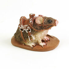 Georgetown Miniature Fairy Garden Mouse With Saddle